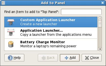 Spicebird Custom Application Launcher