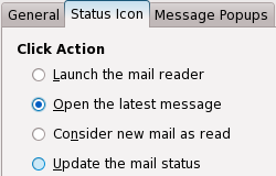 Mail Notification Status Icon Action
